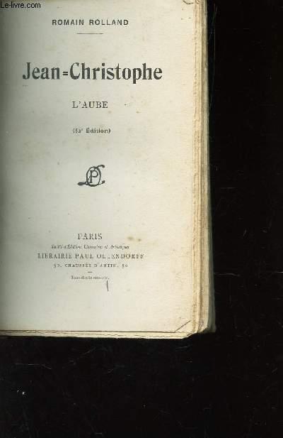 JEAN-CHRISTOPHE L'AUBE / ECOLE NORMALE D'INSTITUTEUR - PERIGUEUX.