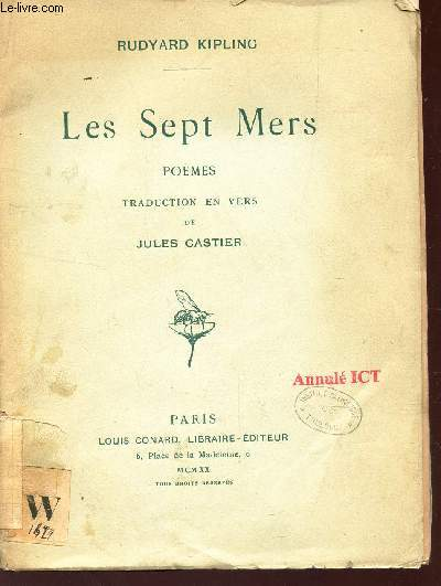 LES SEPT MERS - POEMES.