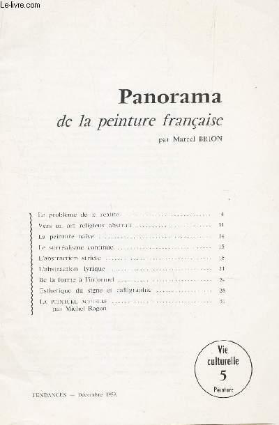 TENDANCES - dec 1959 - vie culturelle 5 - peinture / PANORAMA DE LA PEINTURE FRANCAISE / le probleme de la réalité - Vers un art religieux abstrait - la peinture naïve - le surréalisme continue - l'abstraction stricte - etc...