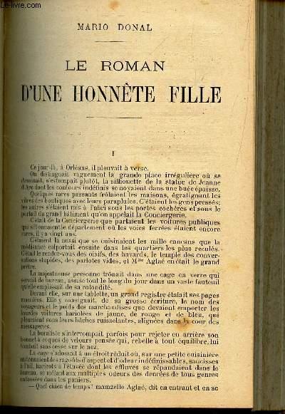 LE ROMAN D'UNE HONNETE FILLE