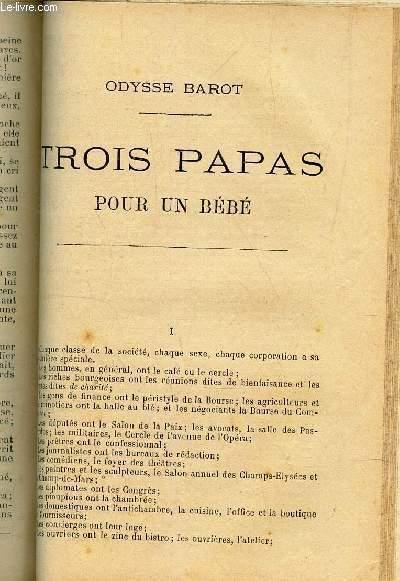 TROIS PAPAS POUR UN BEBE