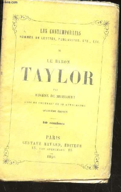 LE BARON TAYLOR / / COLLECTION