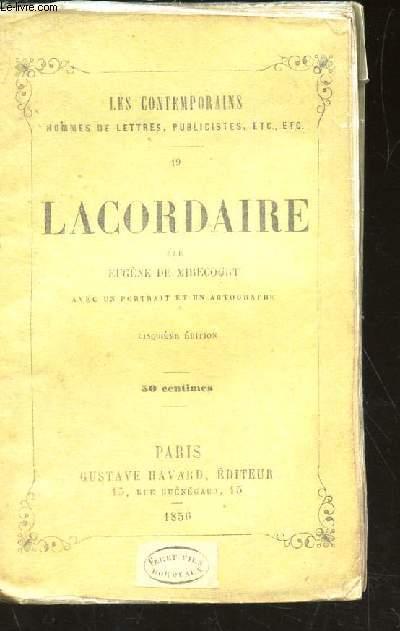 LACORDAIRE / COLLECTION