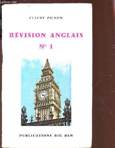 REVISION ANGLAIS N°1