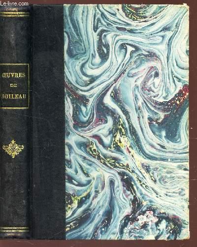 OEUVRES DE BOILEAU-DESPREAUX - d'après l'Edition de 1729.