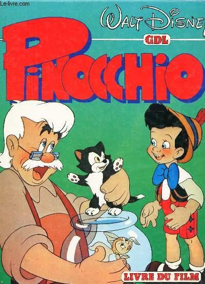 PINOCCHIO - LIVRE DU FILM