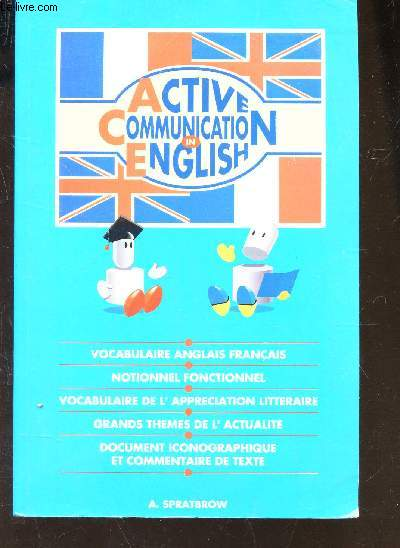 active communication in english    vocabulaire anglais francais