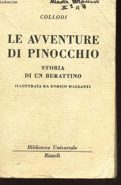 LE AVVENTURE DI PINOCCHIO -