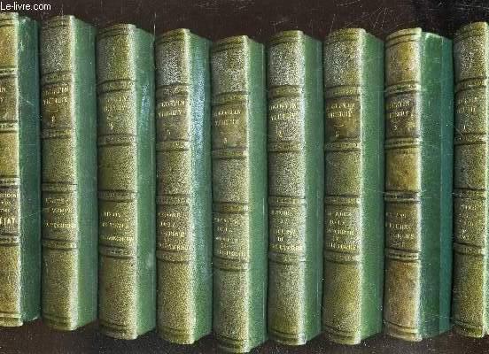 LETTRES SUR L'HISTOIRE  DE FRANCE - 9 VOLUMES : DU TOME 1 AU TOME 9  / NOUVELLE EDITION.