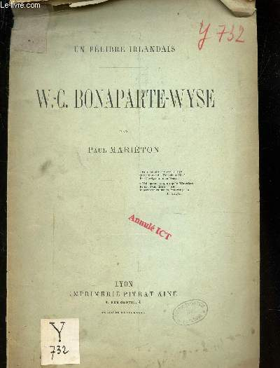 W.C. BONAPARTE-WYSE / UN FELIBRE IRLANDAIS