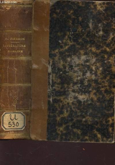 HISTOIRE DE LA LITTERATURE ROMAINE / 2e EDITION