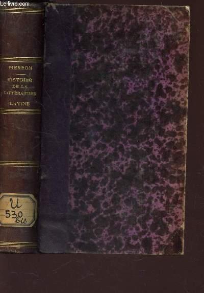 HISTOIRE DE LA LITTERATURE ROMAINE / 5e EDITION