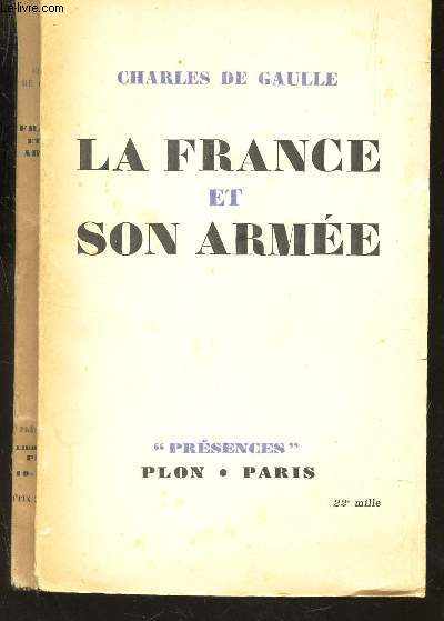 LA FRANCE ET SON ARMEE / COLLECTION