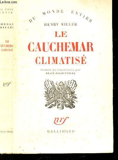 LE CAUCHEMAR CLIMATISE / COLLECTION