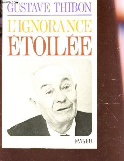 L'IGNORANCE ETOILEE