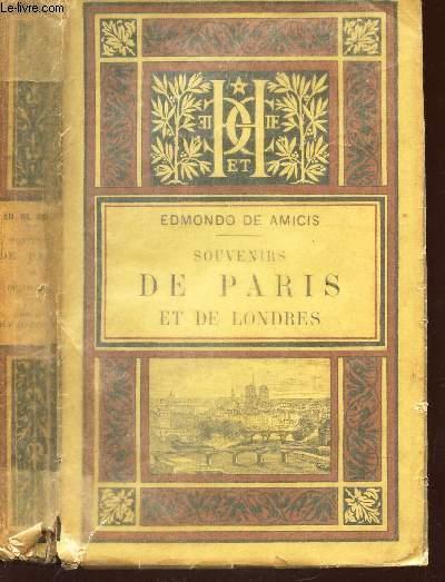 SOUVENIRS DE PARIS ET DE LONDRES / 2e EDITION.