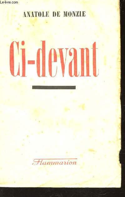 CI-DEVANT