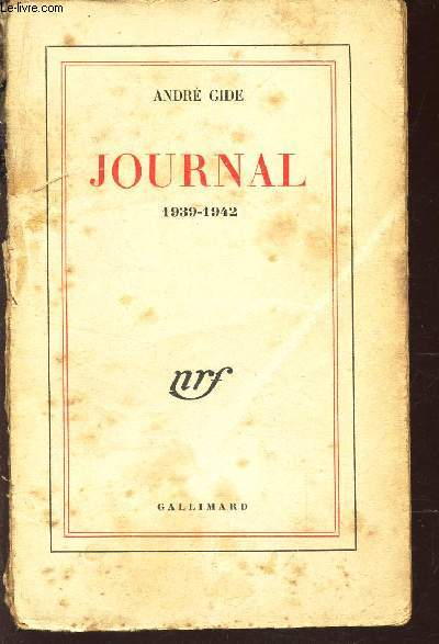 JOURNAL - 1939-1942