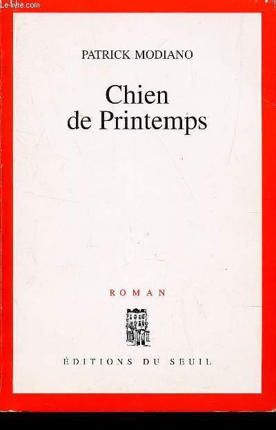 CHIEN DE PRINTEMPS