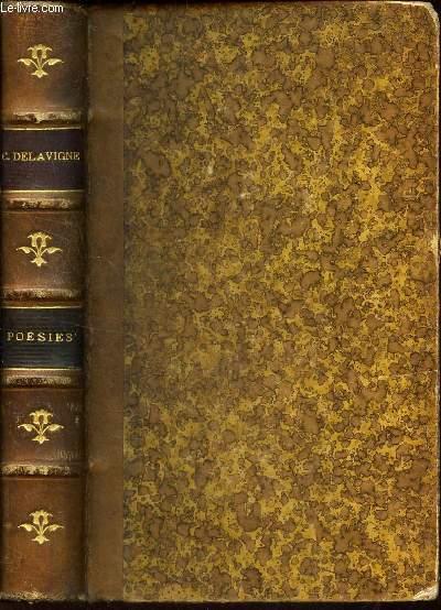 OEUVRES COMPLETES DE CASIMIR DELAVIGNE - POESIES / NOUVELLE EDITION.