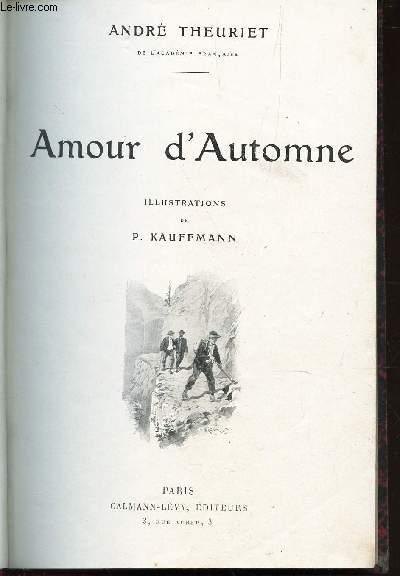 AMOUR D'AUTOMNE / N°1 DE LA COLLECTION ROMANS.