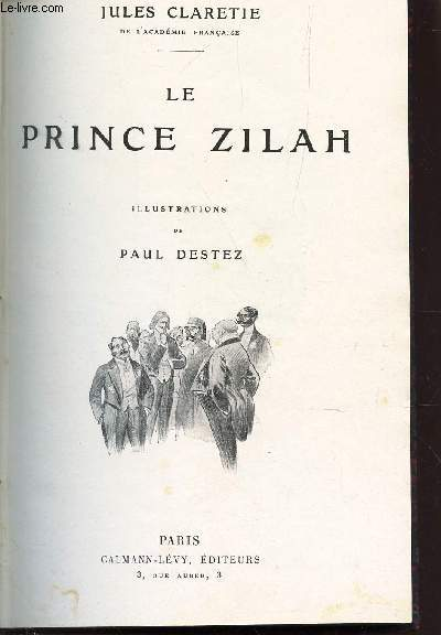 LE PRINCE ZILAH + LE EPTIT JACQUES /  N°24 DE LA COLLECTION ROMANS.