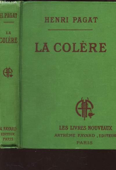 LA COLERE / COLLECTION