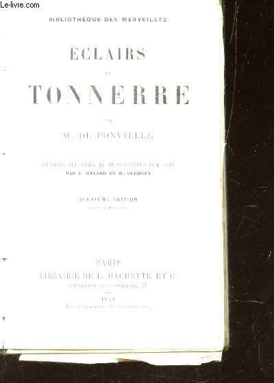 ECLAIRS ET TONNERRE / BIBLIOTHEQUE DES MERVEILLES
