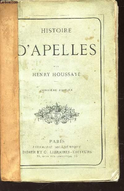 HISTOIRE D'APPELLES