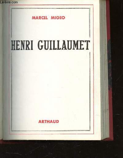 HENRI GUILLAUMET -