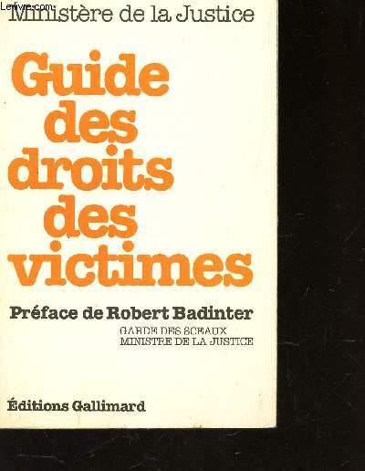 GUIDE DES DROITS DES VICTIMES
