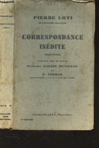 CORRESPONDANCE INEDITE - 1865-1904 - Publiée par sa nièce Madame Nadine Duvignau et N. Serban.