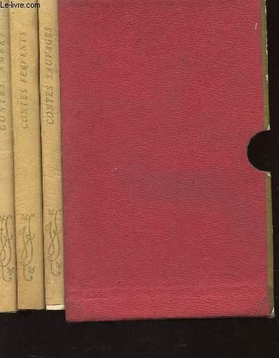 COFFRET DE 3 VOLUMES : CONTES SAUVAGES + CONTES FERVENTS + CONTES AMERS.