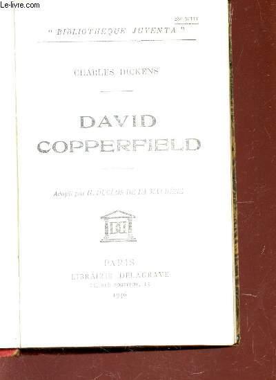 DAVID COOPERFIELD / BIBLIOTHEQUE JUVENTA.