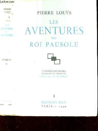 LES AVENTURES DU ROI PAUSOLE / N°4 DE LA COLLECTION