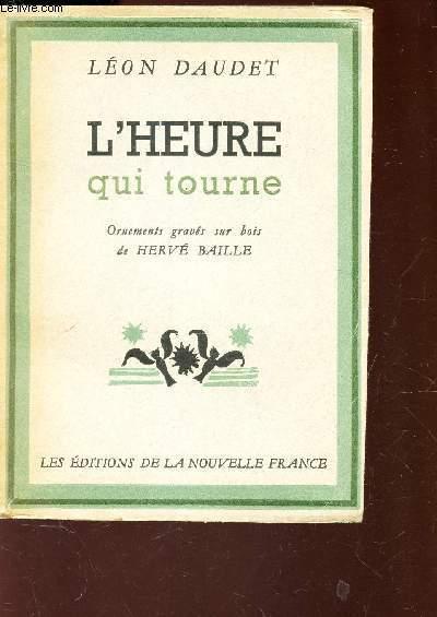 L'HEURE QUI TOURNE