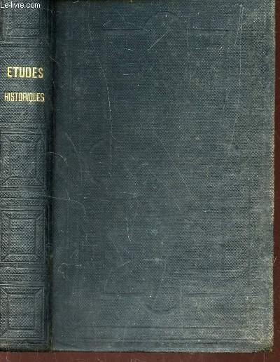 ETUDES HISTORIQUES - VOYAGE EN  AMERIQUE