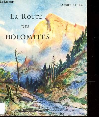 LA ROUTE DES DOLOMITES