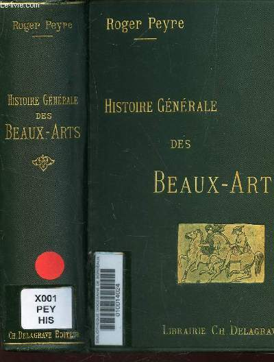 HISTOIRE GENERLAE DES BEAUX-ARTS