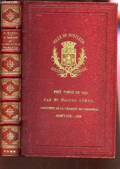 L'EUROPE ET LA REVOLUTION FRANCAISE / 4e PARTIE : LES LIMITES NATURELLES (1794-1795).