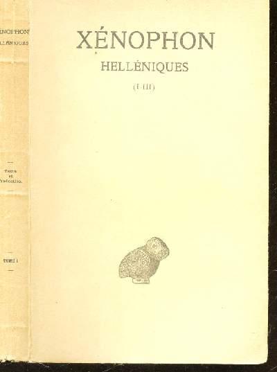 HELLENIQUES (I-III). TOME I.