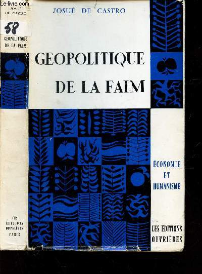 GEOPOLITIQUE DE LA FAIM / COLLECTION