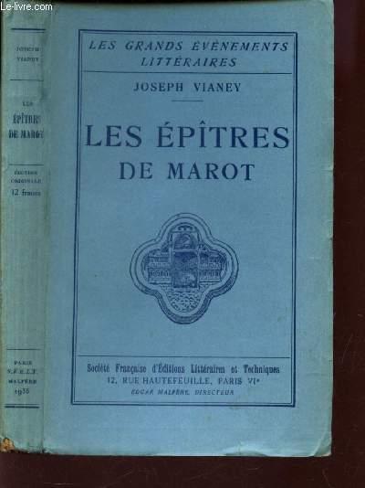 LES EPITRES DE MAROT / COLLECTION