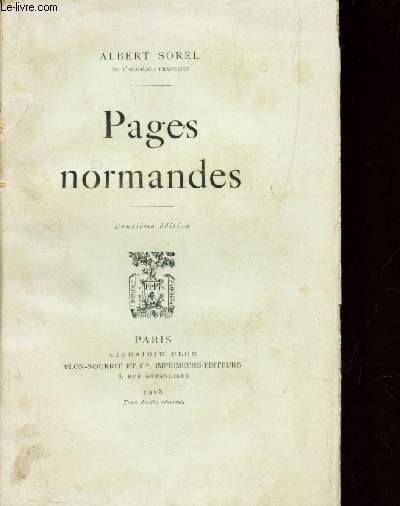 PAGES NORMANDES
