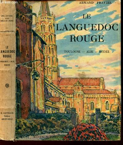 LE LANGUEDOC ROUGE  / Toulouse - Albi - Rodez / COLLECTION