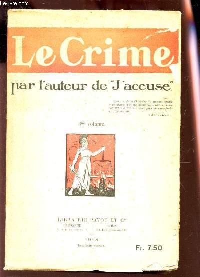 LE CRIME / 3e VOLUME.