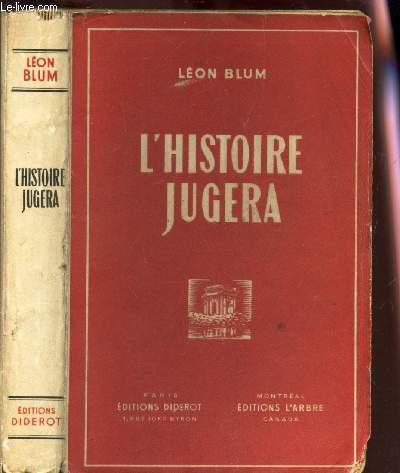 L'HISTOIRE JUGERA