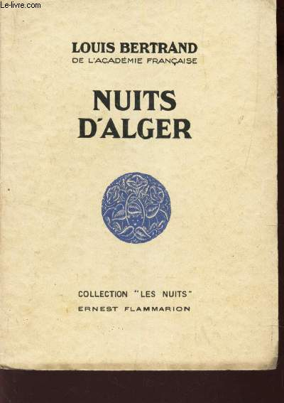 NUITS D'ALGER / COLLECTION