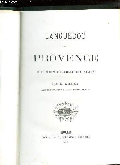 LANGUEDOC ET PROVENCE -