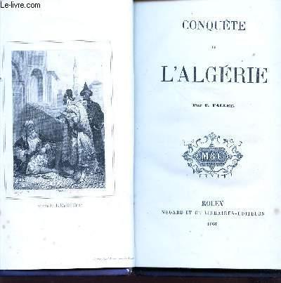 CONQUETE DE L'ALGERIE